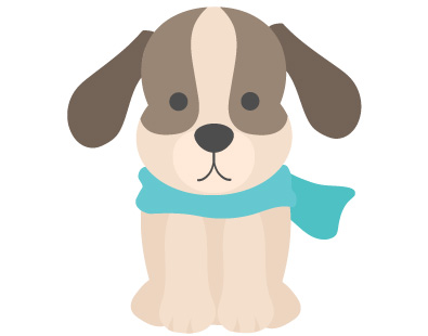 犬の無料素材1