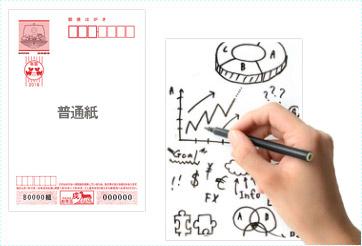 普通紙、インクジェット紙、インクジェット写真用、の3種類があります。