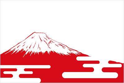 富士山イラスト2