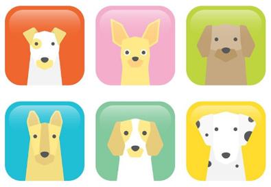 犬の無料素材7