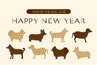 スタイリッシュな無料デザインで素敵な年賀状を作ろう!