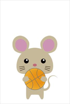 バスケの無料イラスト4