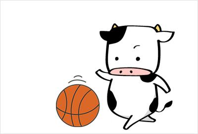 バスケの無料イラスト3