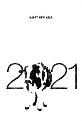 VIDUALLOCKERの年賀状デザイン1